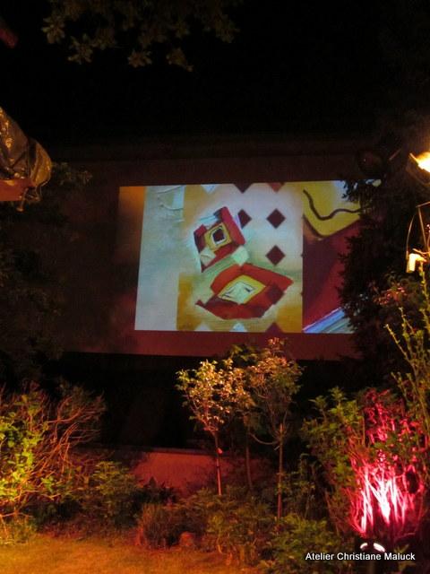 017 Kunst-Projektionen von Christiane Maluck