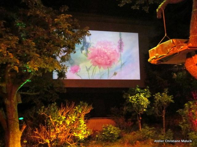 020 Kunst-Projektionen von Christiane Maluck