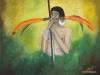 Eriebatskaindianer, Oel, 140x100 cm