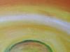 006 Detail: Beginn der Zellteilung, 80x100 cm Acrylfarbe mit Sand