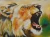2 Der hungrige Löwe 78x45 cm von Nash