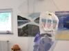 003  Plastikmeer, Rauminstallation einer Reuse mit Plastik, Ch:Maluck