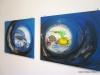 008  Plastikmeer, Christiane Maluck Bilder mit Lawa gemalt