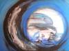 011 Plastikmeer, Christiane Maluck Bilder mit Lawa gemalt