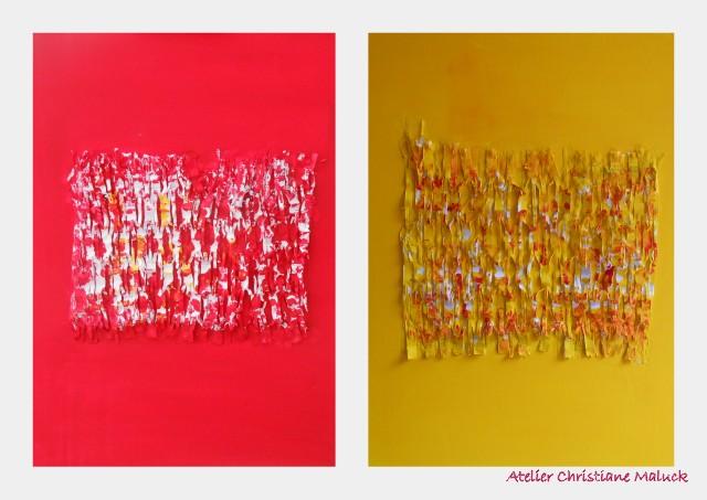 009 Reduktionbilder 2015, Collage