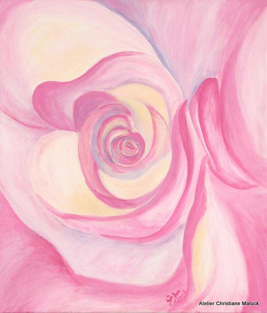 005 Rose, 60x70 cm, Christiane Maluck