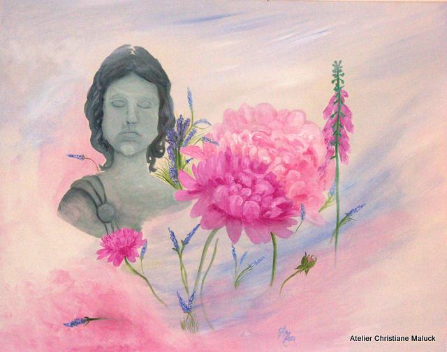 006 Sommerphantasie, 100x80 cm, Acrylfarbe, Christiane Maluck