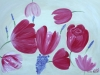 003 Tulpen, 140x100 cm, Acrylfarbe